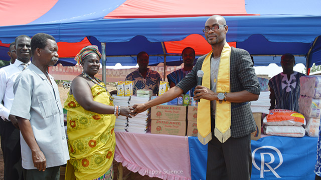 Donation of Supplies for Ebola Prevention in West African Schools