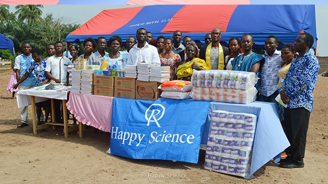 Charity activities in Ghana and Nigeria02
