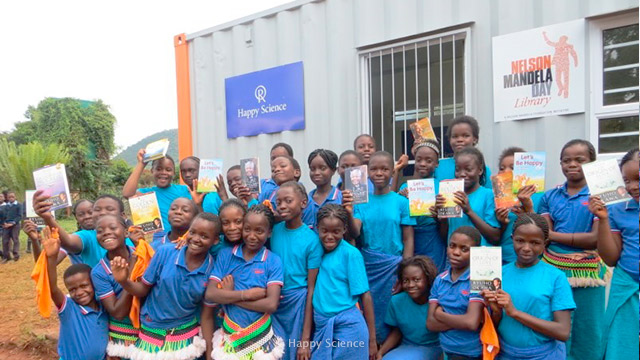 Donation of a Container Library to Nelson Mandela Foundation in South Africa