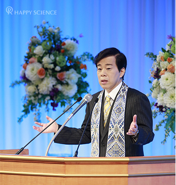 "20160215_ Lecture titled, ""The Power to Lead the World"""